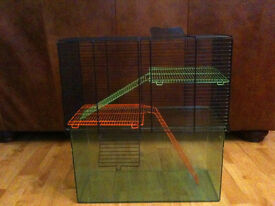 Large Gerbilarium Cage - Ideal for Rats/Chinchilla/Ferrets who Like to Burrow