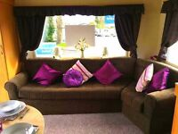 This Family Starter Static Caravan For Sale IS At Sandylands Near Craig Tara And Wemyss Bay