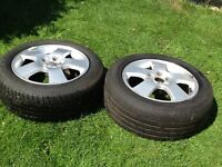 AUDI VW alloys x2