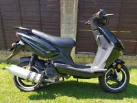 DIRECT BIKES 50CC 62 PLATE 2012 SCOOTER / MOPED RUNS FINE BEEN STOOD SPARES OR REPAIRS
