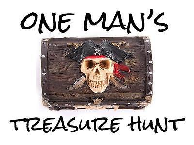 One Man's Treasure Hunt