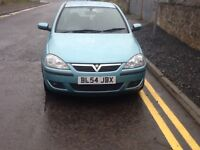 Vauxhall corsa 1.2.low mileage.years mot.mint condition