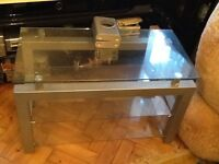Tv stand stainless steel