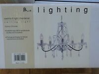 brand new boxed BHS Chandellier