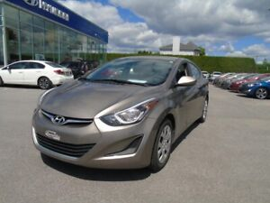 Hyundai Elantra Berline 4 portes, boîte manuelle, GL
