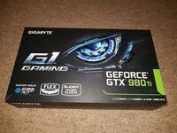 {GPU + VR} (Splitting available) Gigabyte 980Ti G1 Gaming + HTC Vive VR Headset