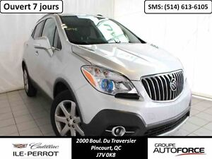 2016 BUICK ENCORE AWD, NAV, TOIT OUVRANT, CUIR