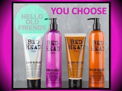 Dumb Blonde Shampoo Conditioner (TIGI BED HEAD COLOUR GODDESS DUMB BLONDE SHAMPOO CONDITIONER TREATMENT YOU PICK! )