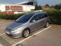 PEUGEOT 307 1.6 AUTOMATIC Panoramic Roof MOT 21/06/2017 READY TO DRIVE
