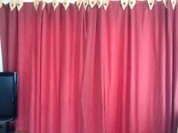 Lovely heavy cotton curtains