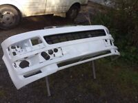 VW T5 Front Bumper with ABT style Splitter T5.1 Facelift