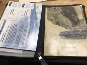 2004 Ford Explorer Owners Manual Guide Book