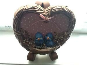 Ceramic Love Birds Ornament