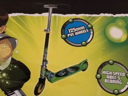 BNIB. Never used Ben 10 scooter, helmet, knee & elbow pads Melton Melton Area Preview