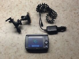 Sat Nav by NAVMAN with charger and windscreen mount