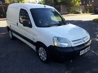 54 plate berlingo with only 113000 miles and mot till april 2017
