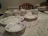 21 piece tea set