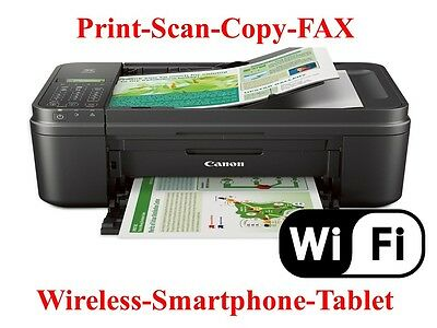 NEW Canon MX492 (2922) WIreless Printer-Copy/Scan-Fax-mobile Print-father day