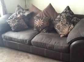Large sofa DFS