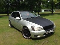 Lexus IS 200 Saloon 2.0 SE 4dr 6months mot MODIFIED TASTEFULLY CUSTOM BUILD SOUND SYSTEM