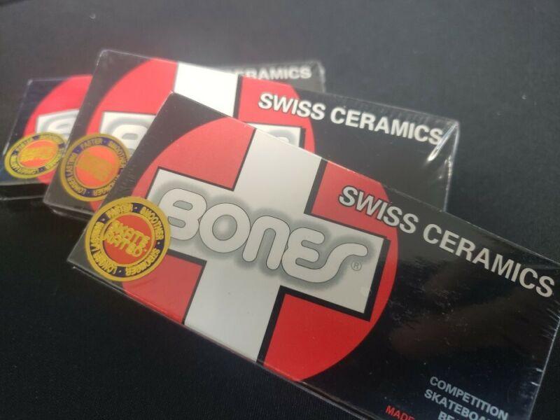 [New] Bones Swiss Ceramic Competition bearings- 8 Pack-