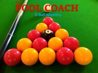 Pool Coaching Lessons - 8-Ball Table