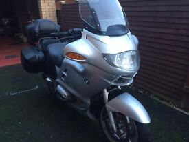 BMW R1150RT MOTD AND RECENT FULL SERVICE FULL DOCUMENTED SERVICE HISTORY