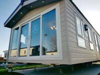 Residential grade static caravan, 11.5 month Season, purchase cash or finance, double glaze CH