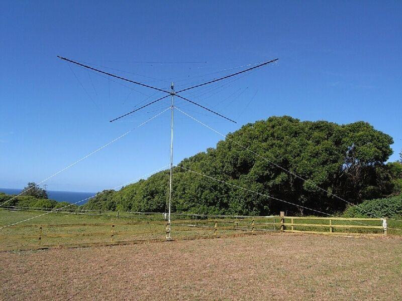 Spiderbeam 20-17-15-12-10m HD - 5-band HF Antenna - Heavy Duty Model