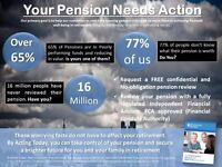 Free Pension Health Check by an Independent Financial Adviser - regulated by the FCA #pensioncrisis