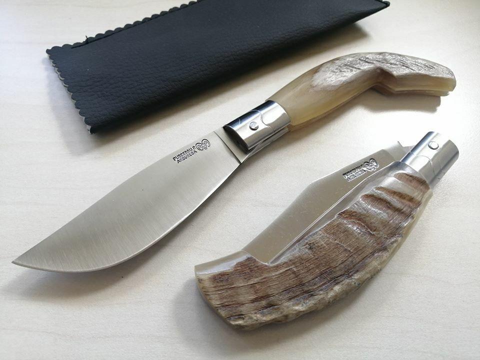 Coltello Tradizionale Pattada Pusceddu Arburesa punta di montone couteau knife