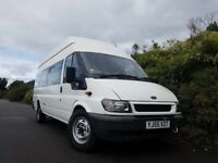 Ford Transit. Diesel NEW MOT mini bus/ideal camper conversion