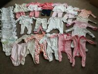 Bundle of baby girls clothes 3-6months £3 the lot