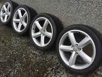 Genuine audi vw 20 inch alloy wheels