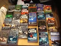 26 fiction paper back books by 3 authors