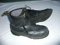 Dr Marten's Air Wair Steelie Boots Size 12 RRP £70