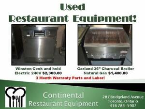 Restaurant Equipment! We have been selling New and Used for over 25 Years!