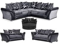 CORNER/3+2 SOFA DFS SET CHAIR AVAILABLE + DELIVERY