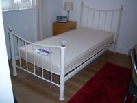 SINGLE BED.... COMPLETE WITH SLEEP-MASTER MATTRESS and LINEN
