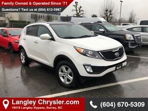2013 Kia Sportage LX *ACCIDENT FREE* * LOCALLY DRIVEN*