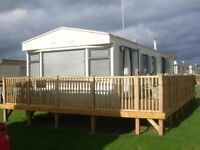 caravan for rent / hire , sleeps 4 people .. its sited at Clacton on sea essex