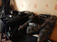 FULL CARP SET UP COMPLETE CARP/CAT SET UP INC x2 BIG VIPER BAIT BOATS