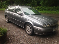 2005/ 54 JAGUAR X/TYP ESTATE D,I,E,S,E,L, 1 YR M,O,T , 122K DRIVES SUPERB NO ISSUES'WOT SO EVER !