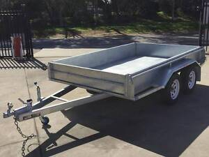 10x5 Galvanised Rolled Body Heavy Duty Tandem Trailer Copper Coast Preview