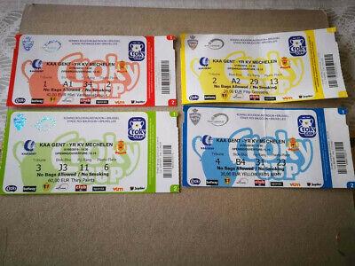 Ticket Finale Coupe de Belgique : KA Gent - KV Mechelen 01-05-2019
