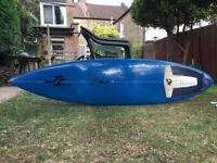 "6'3"" Tuflite Shane Dorian Surfboard. 18.15"" x 2.15"""