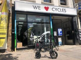 We Love Cycles Bicycle Shop And Repair Workshop In London For Sale