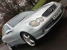 2005 MERCEDES CLK 270 CDI AVANTGARDE MANUAL IN SUPERB CONDITION AND DRIVES LIKE BRAND NEW