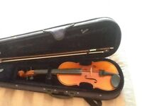 Childs violin. 1/2 size