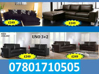 SOFA 3+2 AND RANGE CORNER LEATHER AND FABRIC BRAND NEW ALL UNDER £250 0258